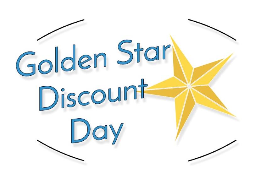 golden-star-discount-stamp